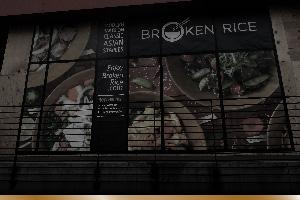 restaurant menu design print and website design